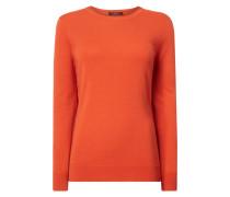 Pullover aus Seide-Woll-Mix