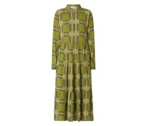 Hemdblusenkleid aus Viskose Modell 'Caprice'