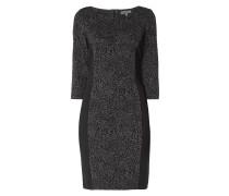 Jerseykleid mit strukturiertem Muster