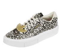 Plateau-Sneaker mit Animal-Print Modell 'Sleek Super'