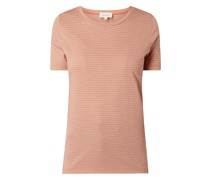 T-Shirt aus Lyocell und Bio-Baumwolle Modell 'Lidiaa'