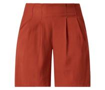 Shorts mit Bundfalten Modell 'Lynwen'
