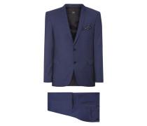 Anzug aus reiner Schurwolle mit 2-Knopf-Sakko