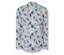 Slim Fit Business-Hemd aus Baumwolle Modell 'Pajos'