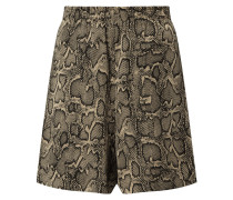Shorts in Snake-Optik Modell 'Sweat'