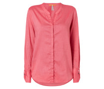 Bluse mit Webmuster
