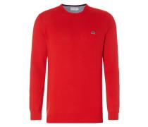 Pullover mit Logo-Aufnäher