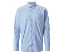Modern Fit Freizeithemd mit Ellenbogen-Patches