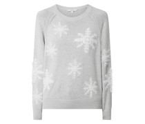 Pullover mit Winter-Motiv