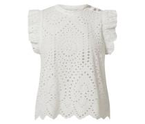 Blusenshirt aus Lochspitze Modell 'Fionn'