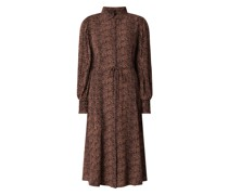 Blusenkleid aus Viskose Modell 'Laivo'