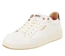 Sneaker aus Leder und Textil Modell 'Olympia'