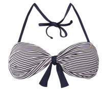 Bikini-Oberteil mit Streifenmuster