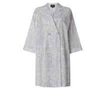 Mantel aus Seide-Baumwoll-Mix