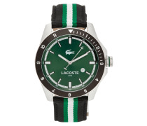 Uhr aus Edelstahl und Aluminium