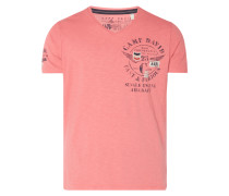 T-Shirt mit Logo-Details