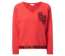 V-Neck Sweatshirt Gigi Hadid