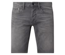 Jeansshorts mit Stretch-Anteil Modell 'Razor'