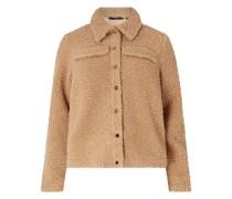 PLUS SIZE Jacke aus Teddyfell Modell 'Lonja'