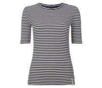 Shirt mit Streifen-Dessin
