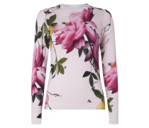 Pullover mit floralem Allover-Muster