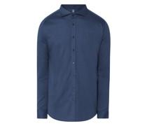 Regular Fit Business-Hemd aus Jersey
