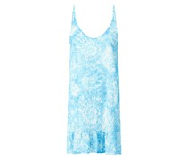 Strandkleid im Batik-Look Modell 'Pirae Bluewashed'