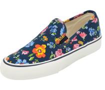 Slip-On Sneaker mit floralem Print
