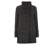 Mantel mit Woll-Anteil und Stehkragen