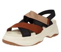 Sandalen mit Plateausohle Modell 'Essy'