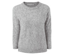 Pullover aus Mohair-Woll-Mix