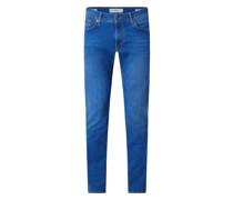 Slim Fit Jeans mit Stretch-Anteil Modell 'Chuck'