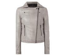 Biker-Jacke aus echtem Schafsleder
