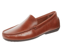 Loafer aus Leder mit Mokassinnaht