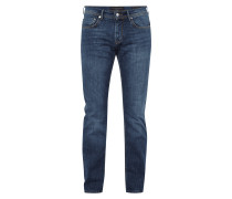 Regular Fit Stone Washed Jeans