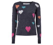 Pullover mit Herzenmuster