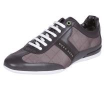 Sneaker mit Logo-Appliaktion und -Print
