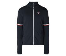 Softshell-Jacke mit Logo-Streifen