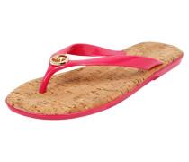 Zehentrenner mit Fußbett aus Kork