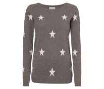 Pullover mit Sternenmuster und Glitter-Effekt