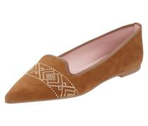 Loafers mit Nietenbesatz