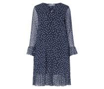 PLUS SIZE Kleid mit Polka Dots