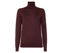 Rollkragen-Pullover aus extrafeiner Merinowolle