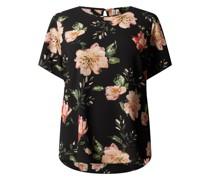 PLUS SIZE Blusenshirt aus Krepp Modell 'Vica'