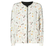 Wende-Bomber mit Allover-Muster