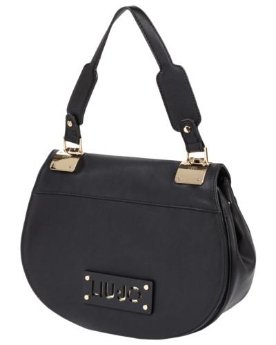 liu jo damen handtasche in lederoptik mit berschlag reduziert. Black Bedroom Furniture Sets. Home Design Ideas