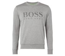 Slim Fit Sweatshirt mit strukturiertem Logo-Print