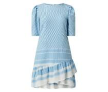 Kleid mit Kufiya-Muster Modell 'Olivia'