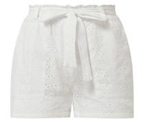 Shorts aus Lochspitze Modell 'Inja'