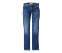 Flared Jeans mit Lyocell-Anteil Modell 'Tess'